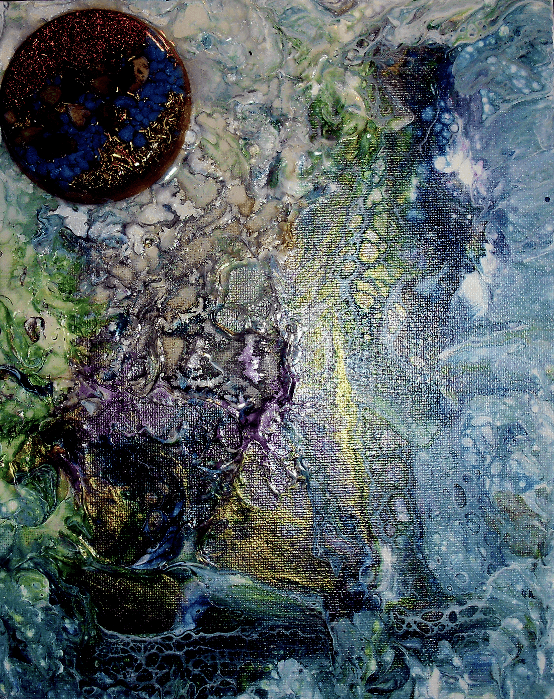 Orgone Cosmic Painting 6