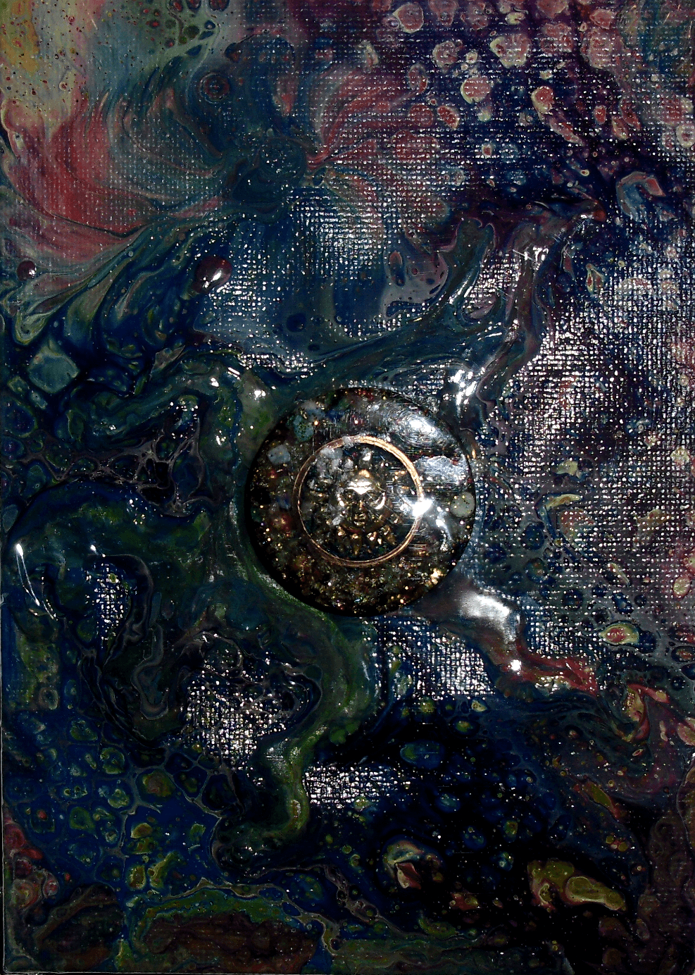 Orgone Cosmic Painting 3
