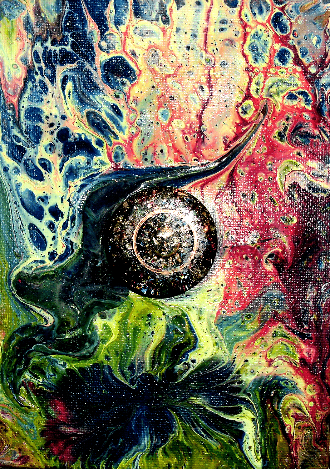 Orgone Fluid Art Catalog