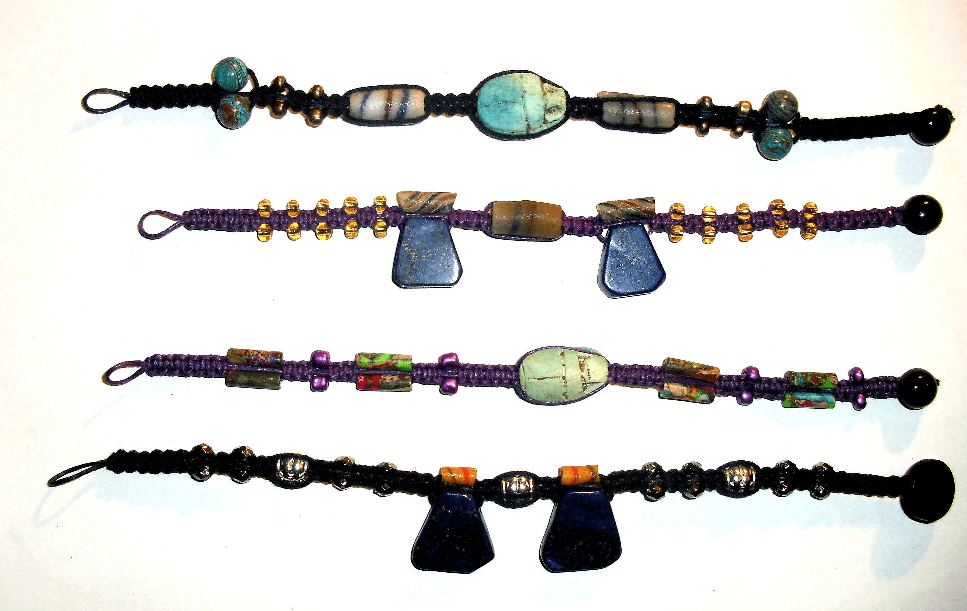 Macrame Bracelets Set 4