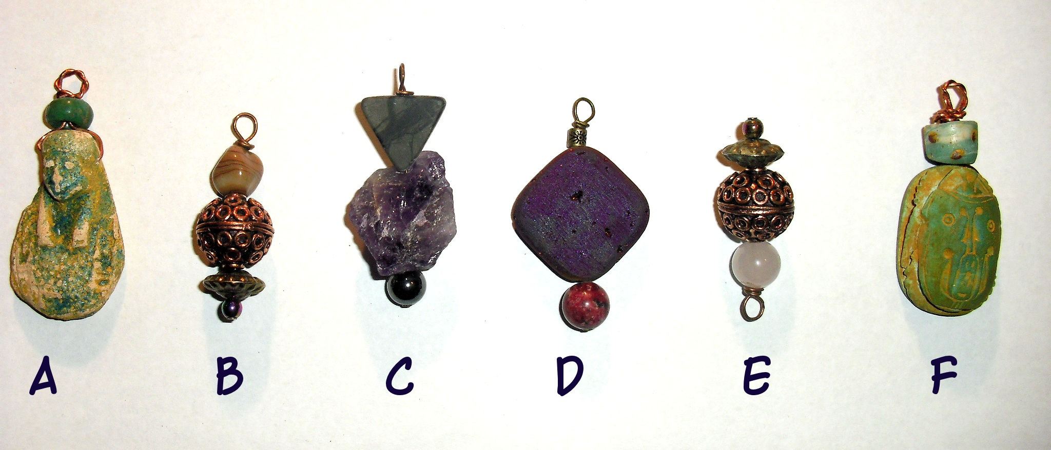 Assorted Pendants 1