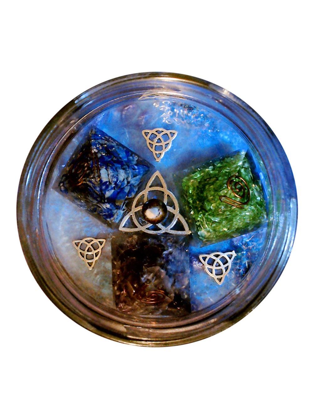 Mandala OrgoNight Aromatherapy Gel Candle