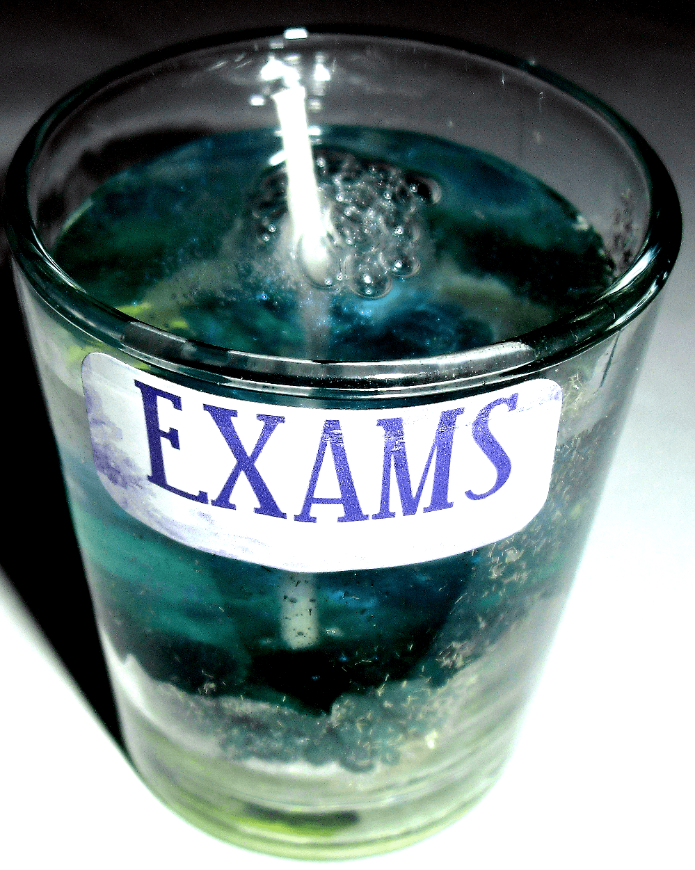 Exams Gel Candle