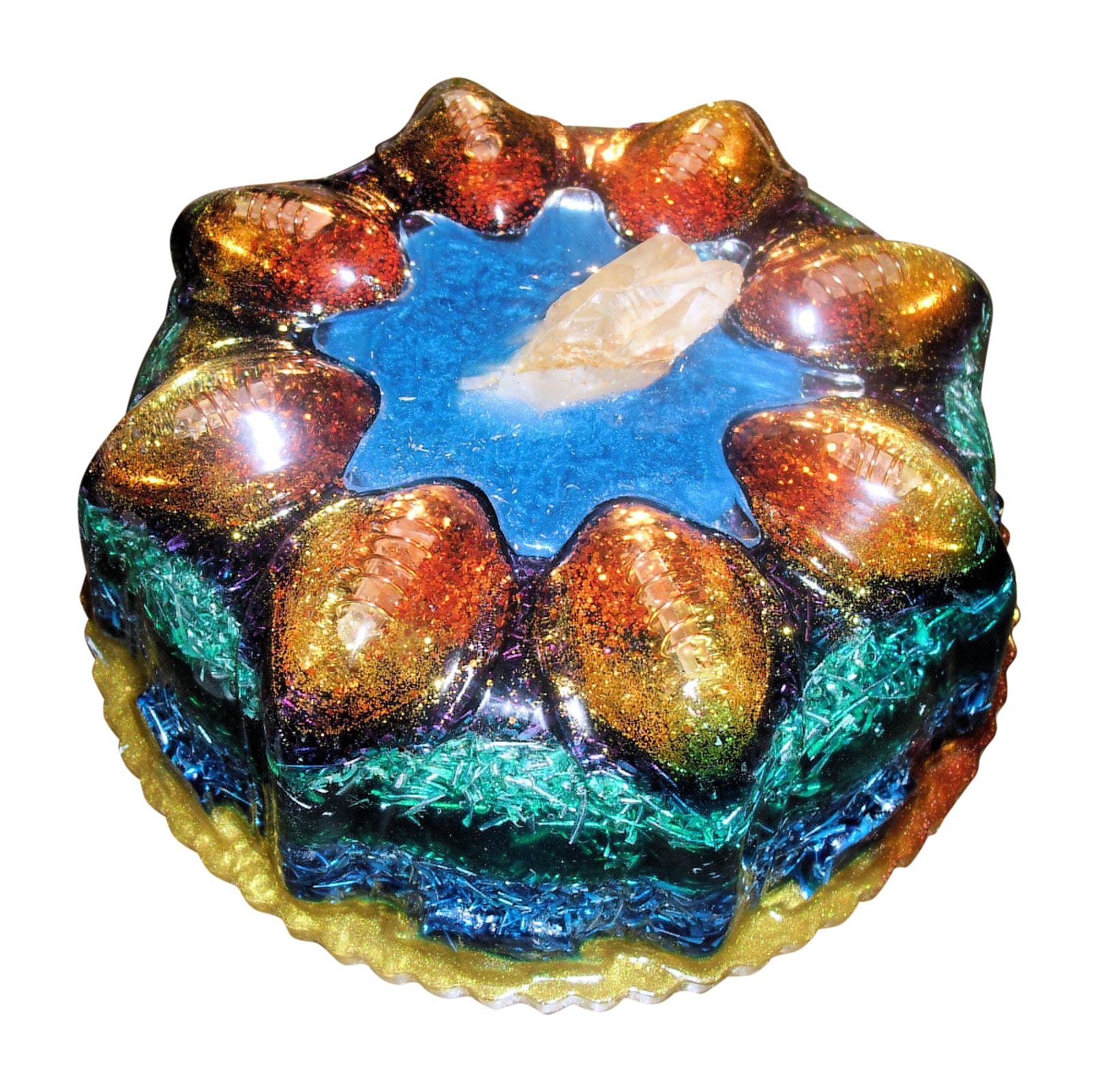 Orgone Energy Generating Device - Crystal Lake