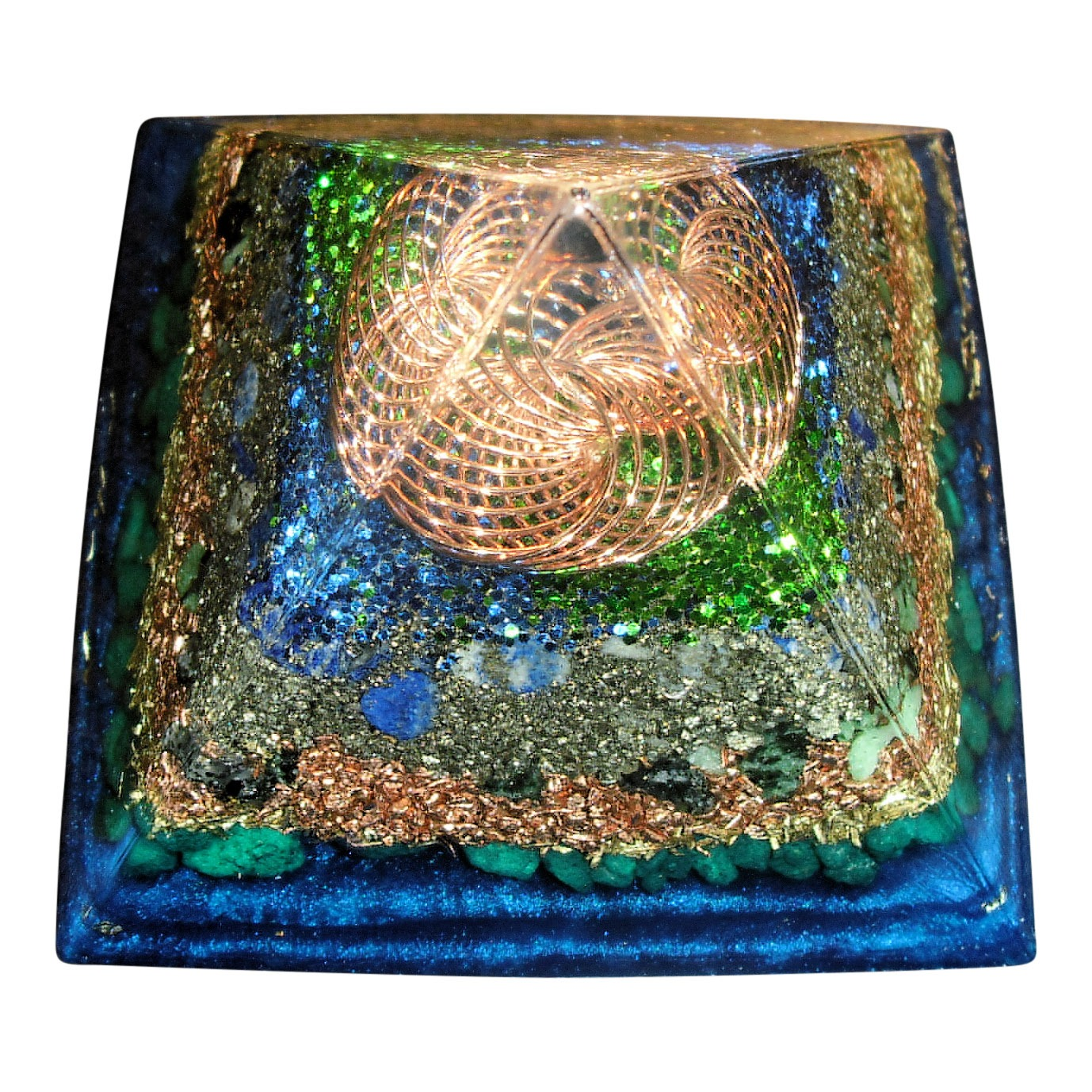Shining Sea Vortex Orgone Pyramid