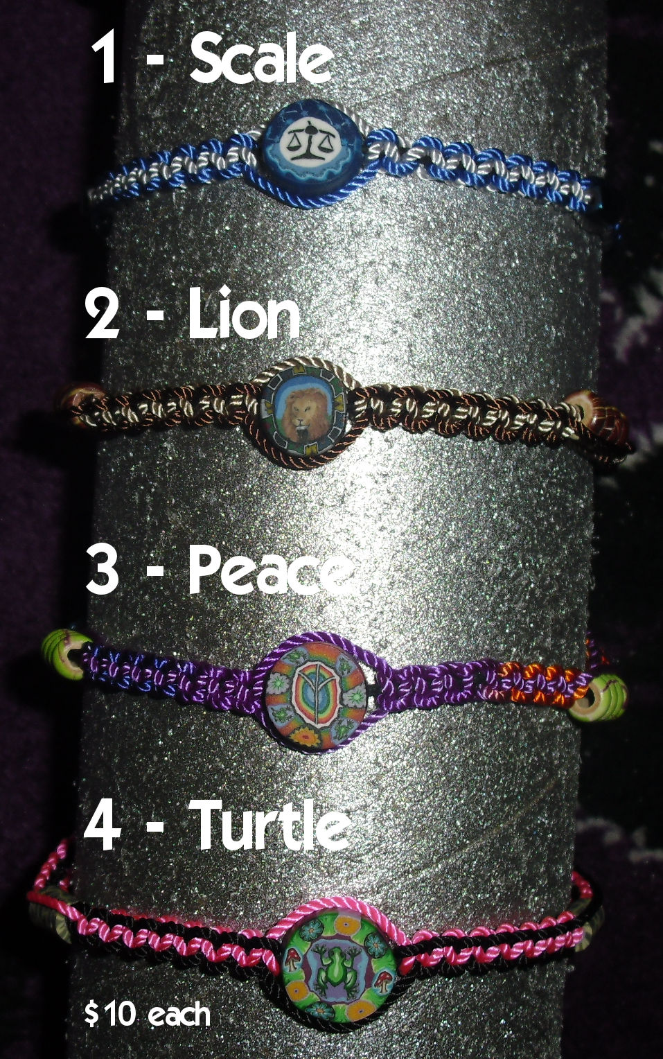 Macrame Meditations Set 1