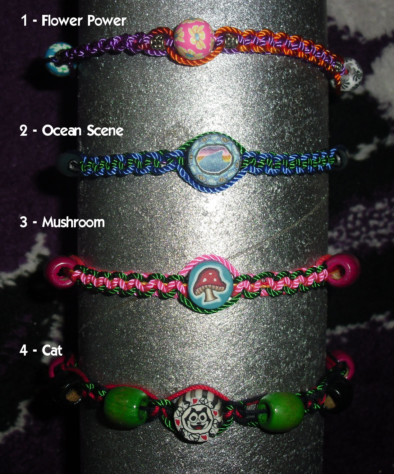 Macrame Meditations Set 4