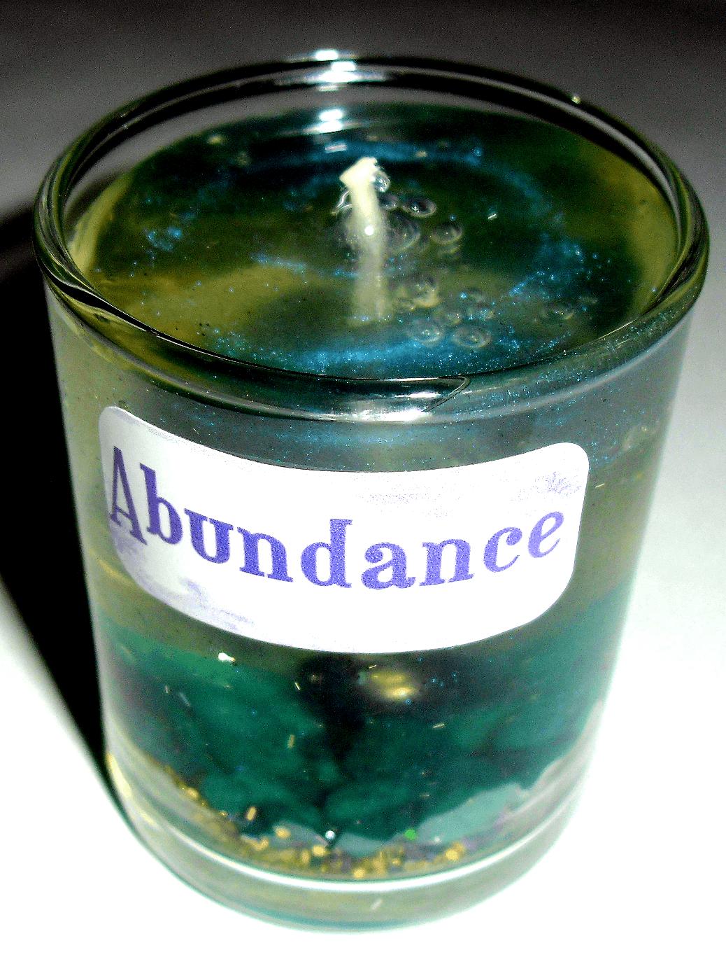 Abundance Gel Candle