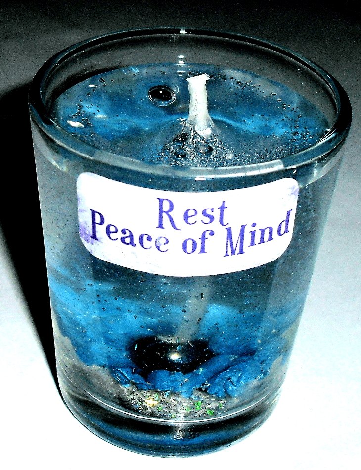 Rest and Peace of Mind Gel Candle