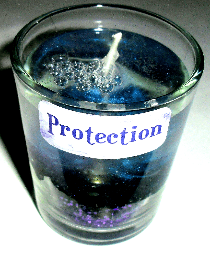 Protection Gel Candle