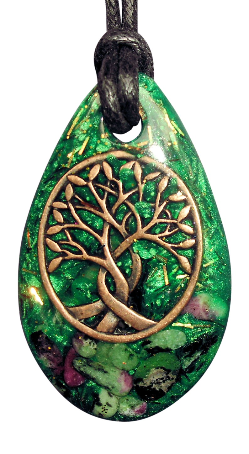 Rain Drop Orgone Pendants