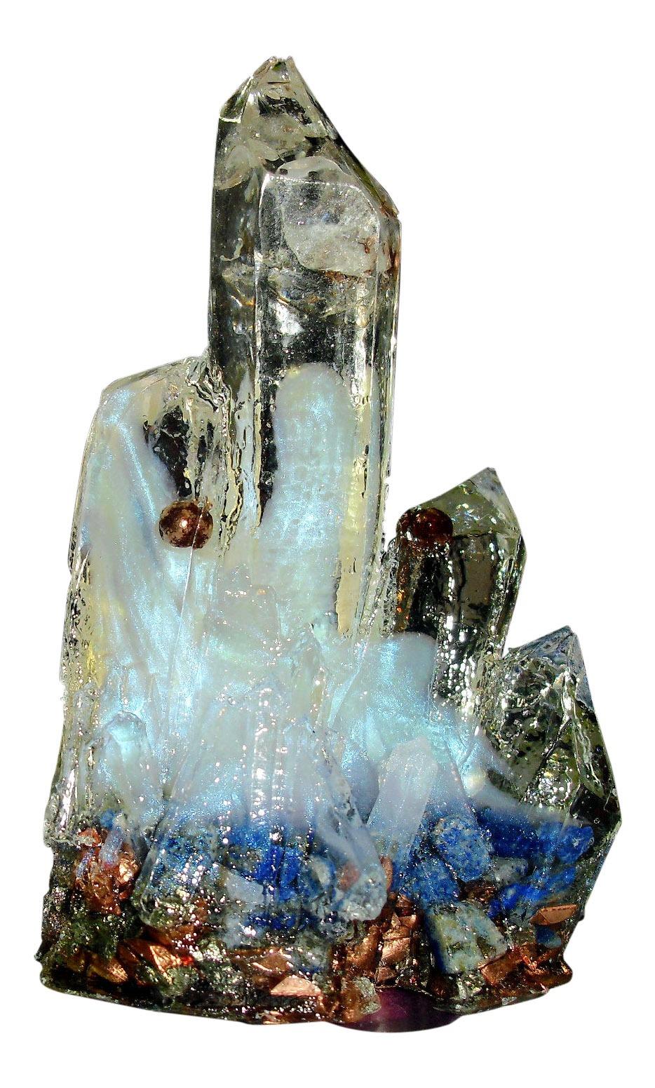 Orgone Crystal Cluster