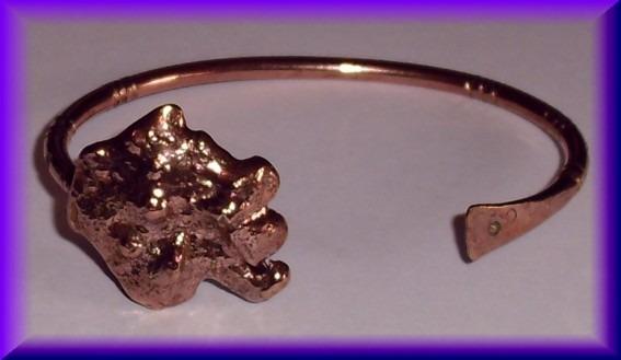 Copper Nugget Bracelet