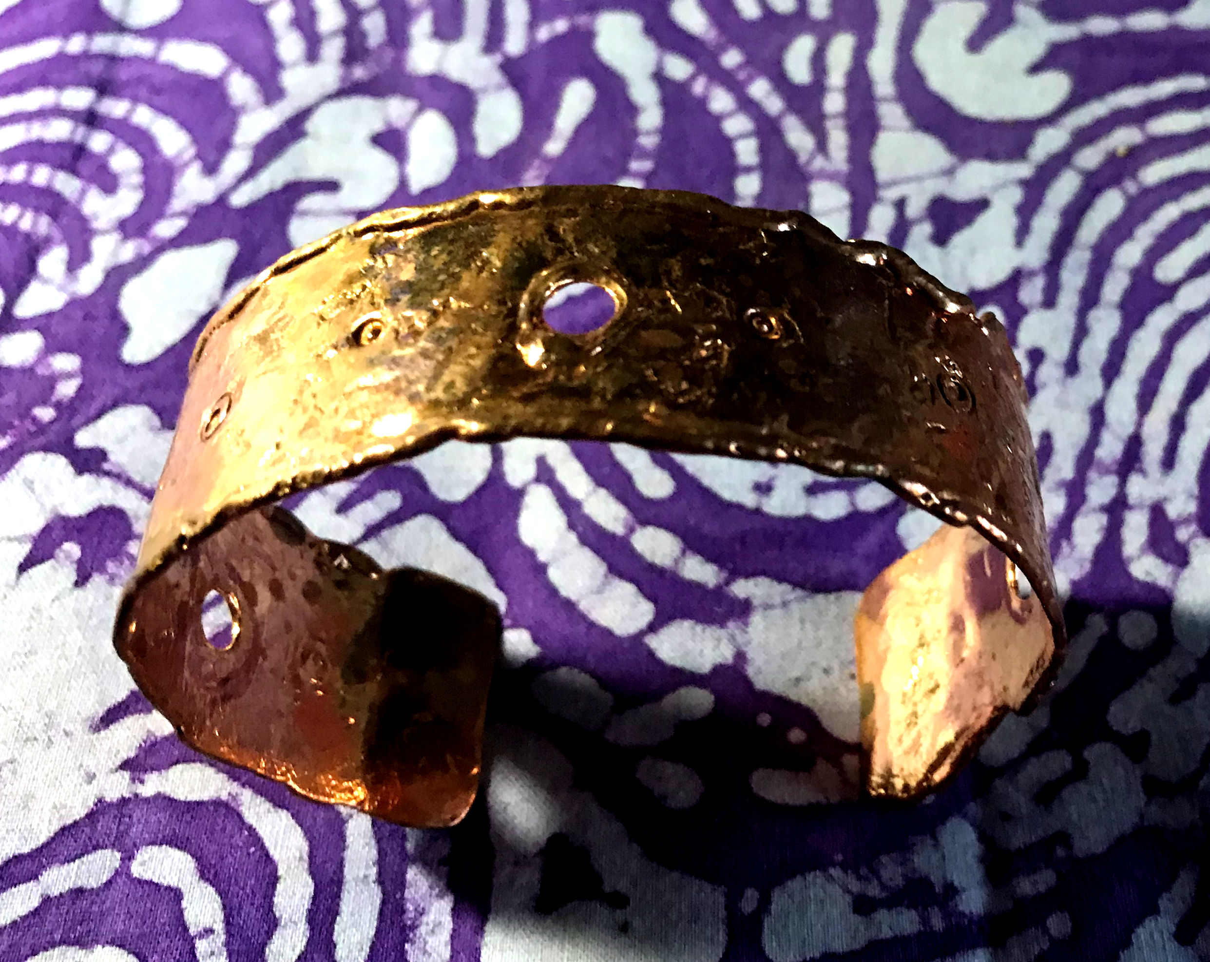 Decorative Copper Band Bracelet
