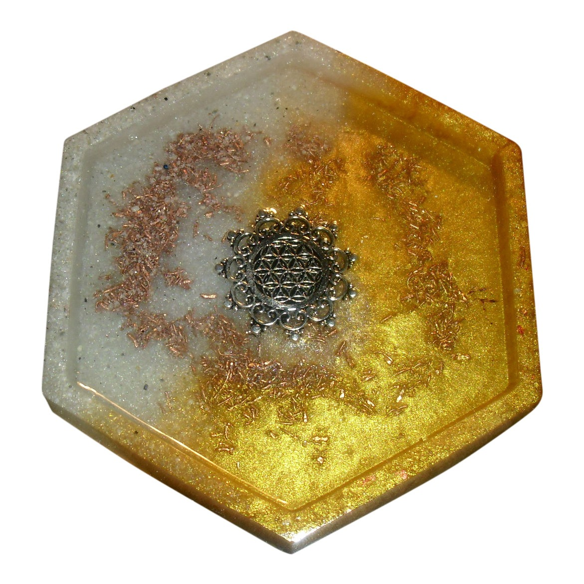 Incense Plate with EMF Protection