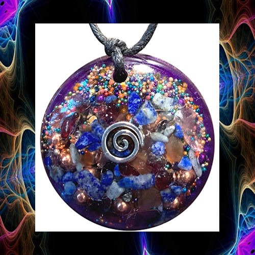 Planetary Peace Orgone Pendant – EMF Protection for a Healthy Body and a Healthy Planet